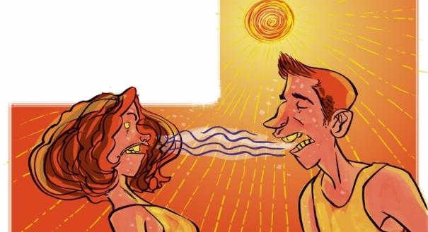 Calor demais aumenta até a chance de problemas como mau hálito
