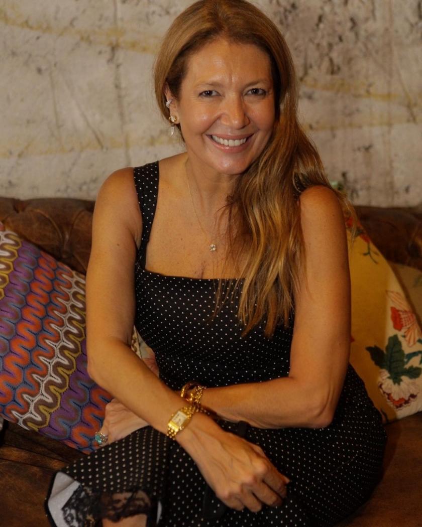 Donata Meirelles pediu demissão da Vogue Brasil. Ela exercia o cargo de  diretora de estilo da revista. a0788bd0cd