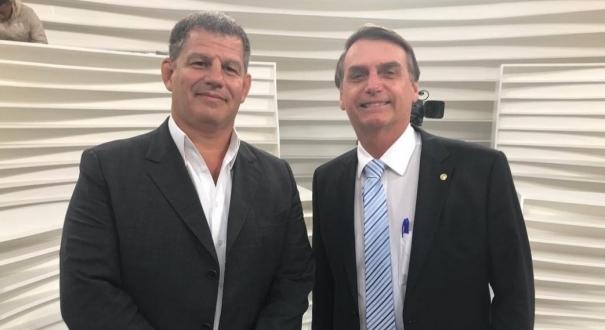 Gustavo Bebianno e Jair Bolsonaro. Crédito: Reprodução/Instagram