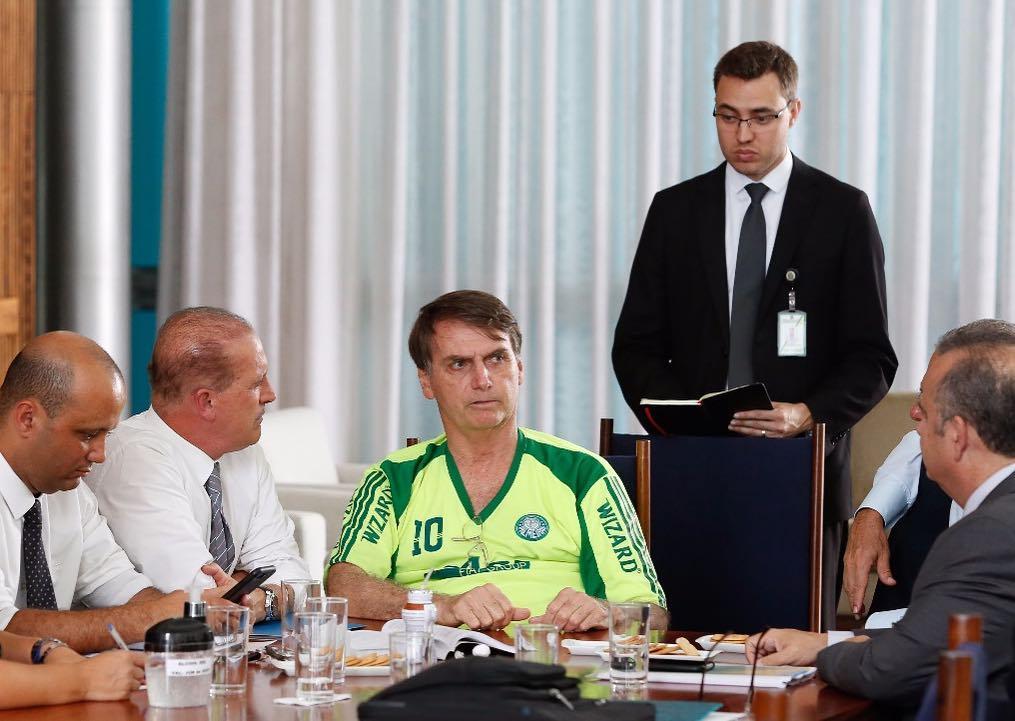 Presidente Jair Bolsonaro. Crédito: Reprodução/Instagram
