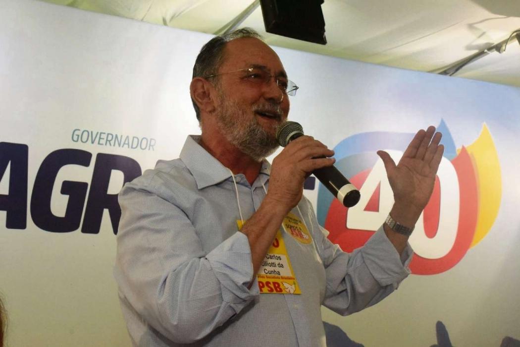 Luiz Carlos Ciciliotti é presidente estadual do PSB. Crédito: Facebook/PSB ES