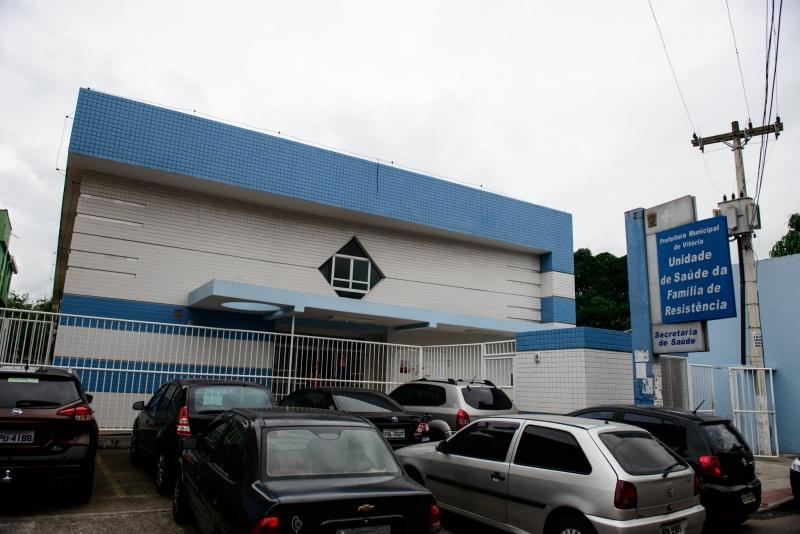 A Unidade de Saúde, em Resistência . Crédito: Diego Alves | Prefeitura de Vitória