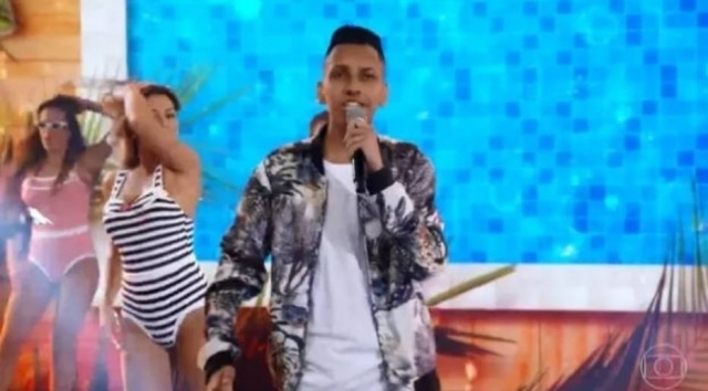 18/02/2019 - Whadi Gama, autor de 'Piscininha, Amor'. Crédito: Reprodução/ TV Globo