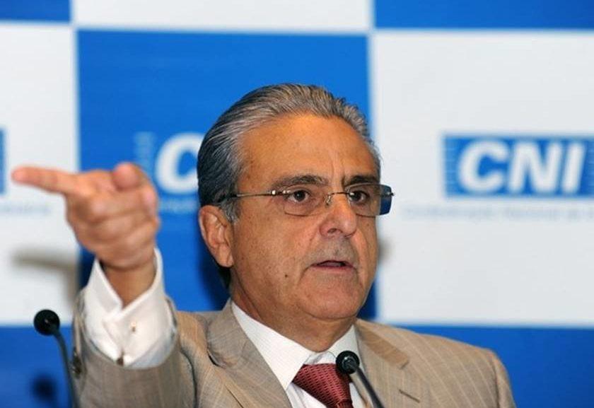 Robson Braga de Andrade - presidente da CNI. Crédito: Wilson Dias - Agência Brasil