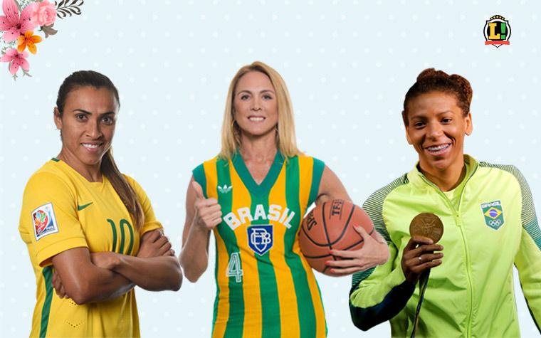 af46bbbe6 As mulheres que têm seus nomes marcados no esporte brasileiro ...